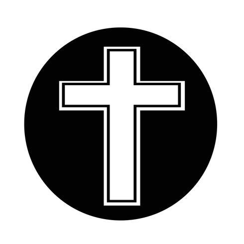 Religionskorsikon vektor