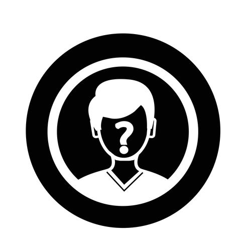 Wer Icon vektor
