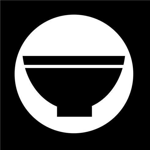 Schüssel-Symbol vektor