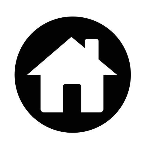 Home-Symbol vektor