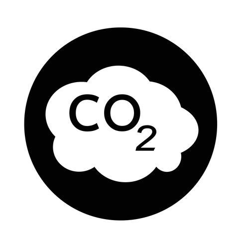 CO2-Symbol vektor