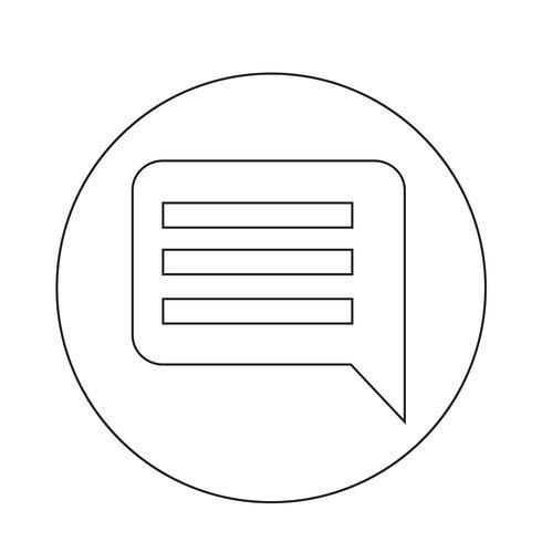 Kommentarsymbol vektor