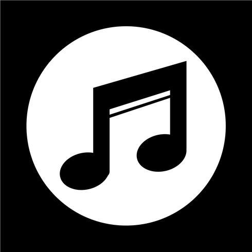 Musik-Ikone vektor
