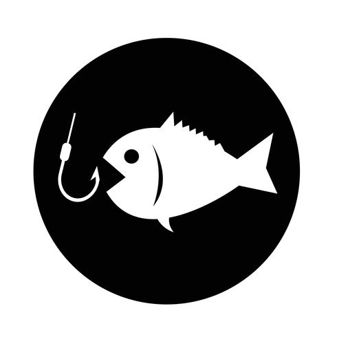 Fischerei-Symbol vektor