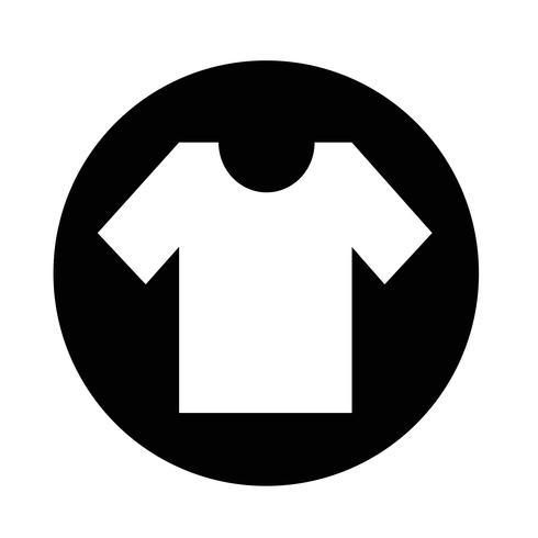 T-Shirt-Symbol vektor