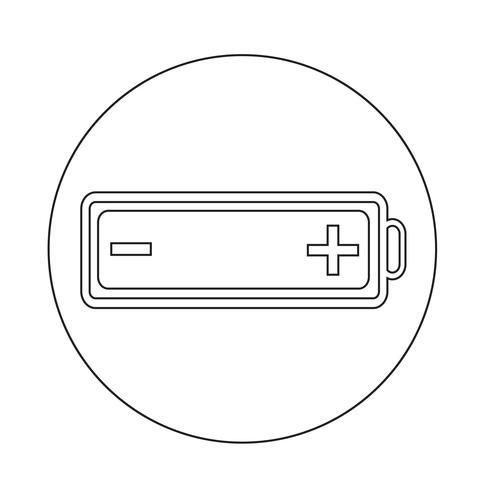 Batteriesymbol vektor