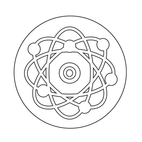 Atom-Symbol vektor