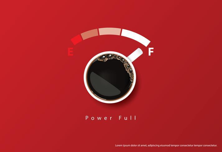 Kaffee-Plakat-Anzeige Flayers-Vektor-Illustration vektor
