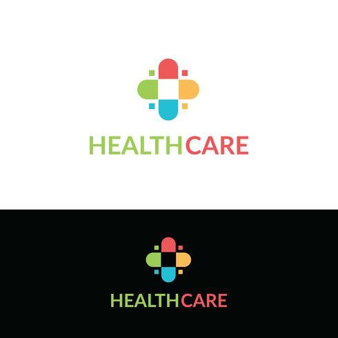 Sjukvårdslogotypen vektor