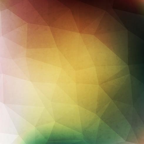 Grön geometrisk bakgrund vektor