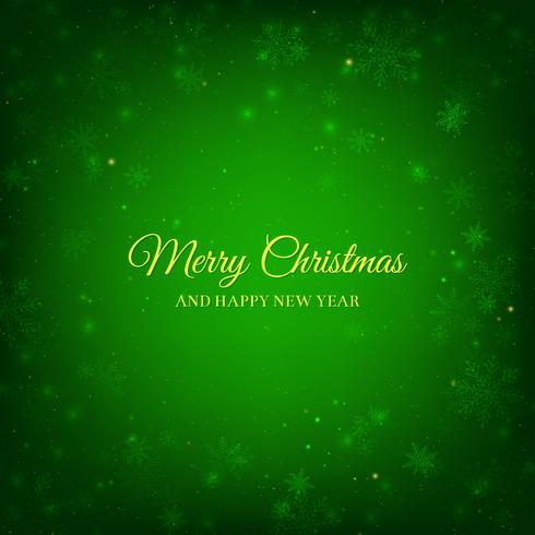 Green Christmas Hintergrund vektor