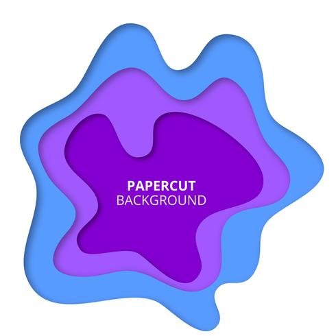 Färgrik pappersskuren bakgrund vektor