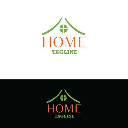 Immobilien-Logo. Home-Logo vektor