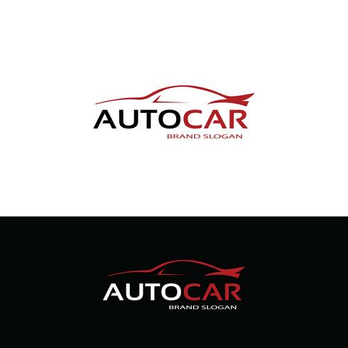 Auto-Logo-Design vektor