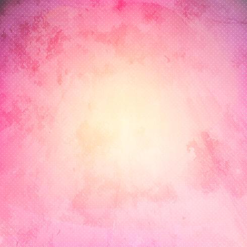 Rosa grunge bakgrund vektor