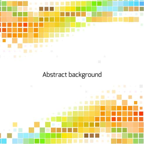 Abstrakt pixelvågor bakgrund vektor