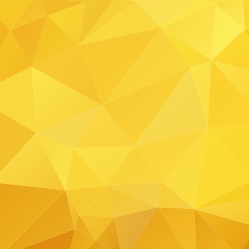 Orange geometrisk bakgrund vektor