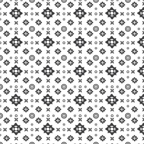 Abstrakt geometriskt mönster vektor
