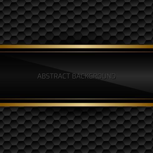 Svart abstrakt bakgrund vektor