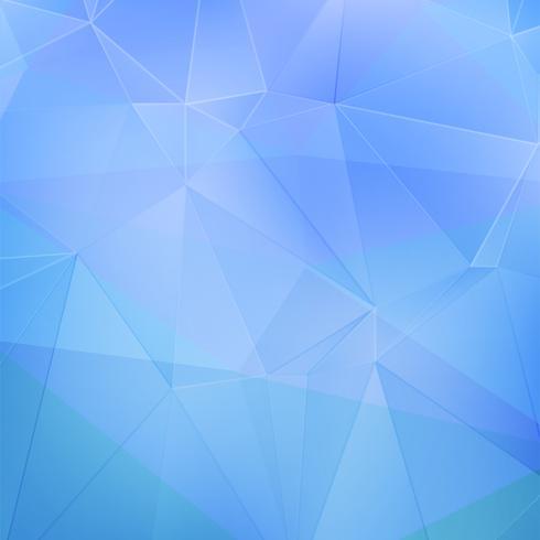 Blå geometrisk bakgrund vektor