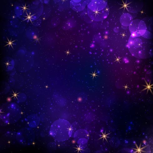 Abstrakt galax bakgrund vektor