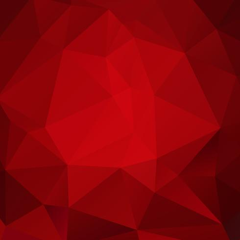 Röd geometrisk bakgrund vektor