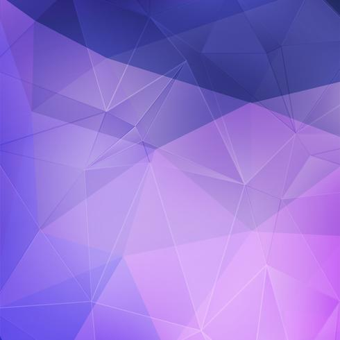 Lila Kristall abstrakten Hintergrund vektor