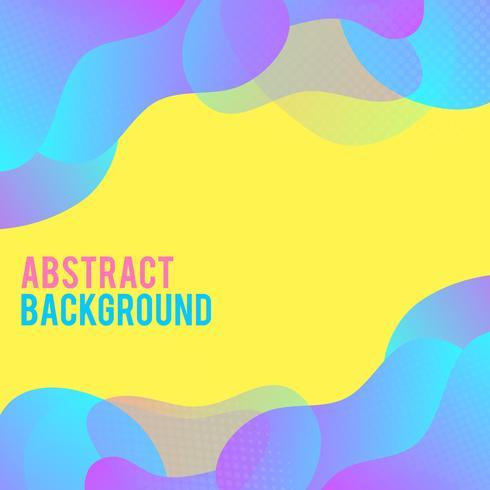 Abstrakt modern bakgrundsvågor bakgrund. Dynamisk effekt. Futuristisk Teknik Stil. Designmall. vektor