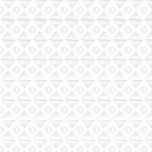 Weißer geometrischer Hintergrund, Muster vektor