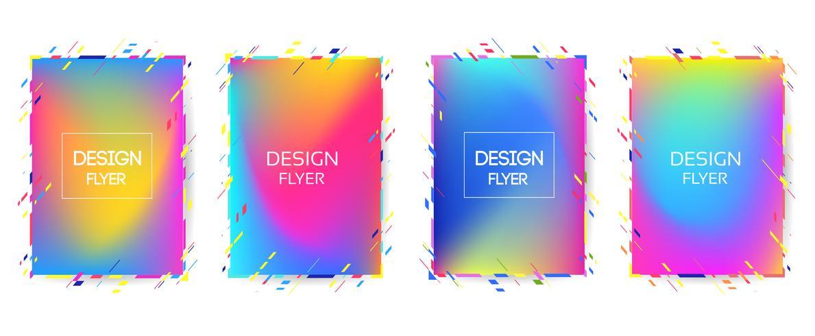 Vektorrahmen für Grafiken der modernen Kunst des Textes für Hippies. dynamischer Rahmen stilvoller geometrischer schwarzer Hintergrund mit Gold. element für das design von visitenkarten, einladungen, geschenkkarten, flyern und broschüren vektor