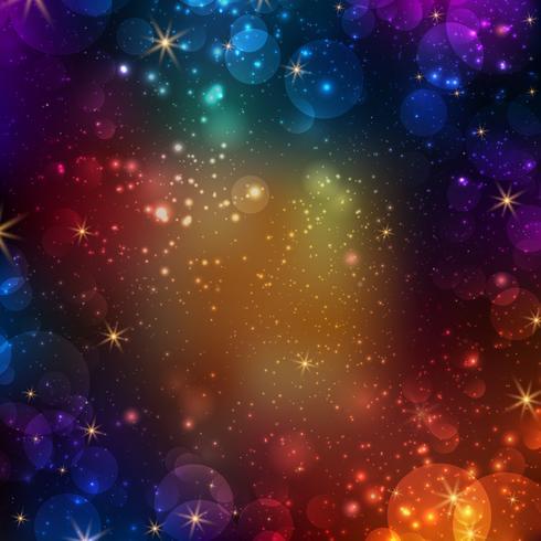 Abstrakter Galaxiehintergrund vektor