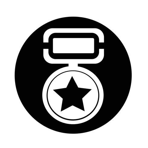 medaljikon vektor