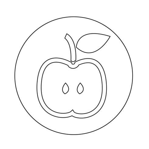 Apple-Symbol vektor