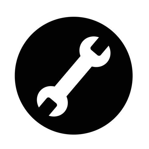 Werkzeugsymbol vektor