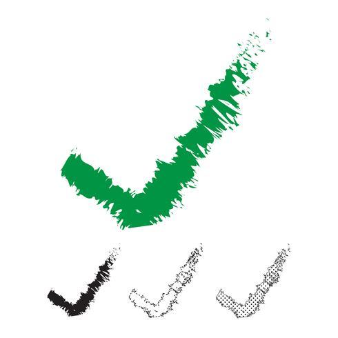 Markera ikonvektorn vektor