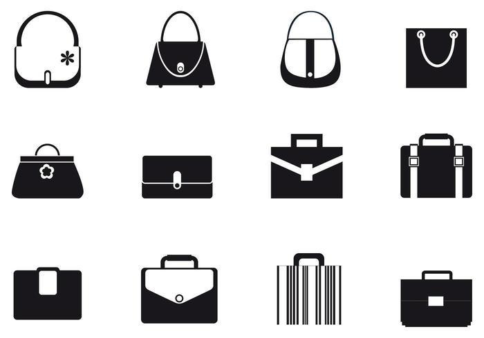 Taschen und Geldbörsen Vector Pack