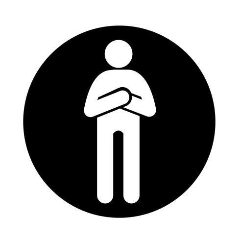Human Action Icon vektor