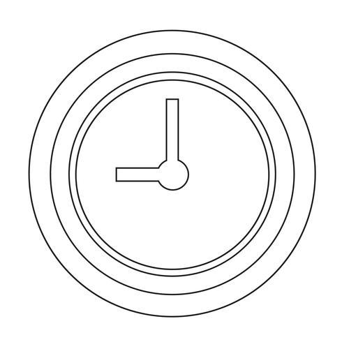 Sign of Time-ikonen vektor