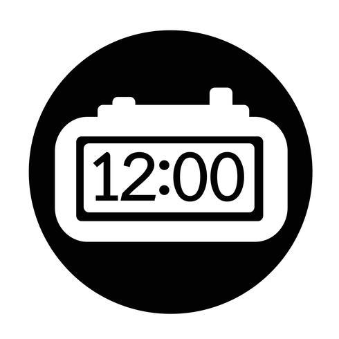 Zeichen der Zeit-Symbol vektor
