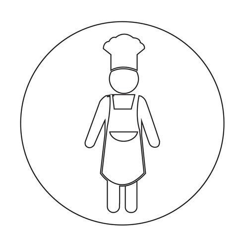 Kockfolk Icon vektor