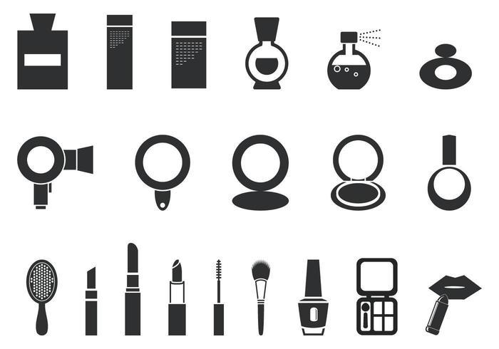 Make-up und Kosmetik-Vektor-Pack vektor