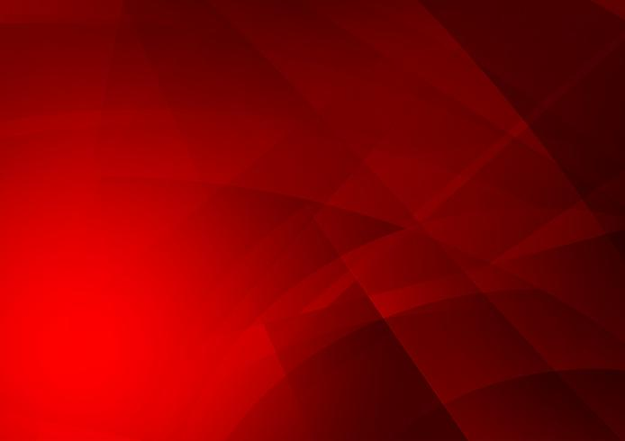 Röd färg geometrisk abstrakt vektor bakgrund, Modern design