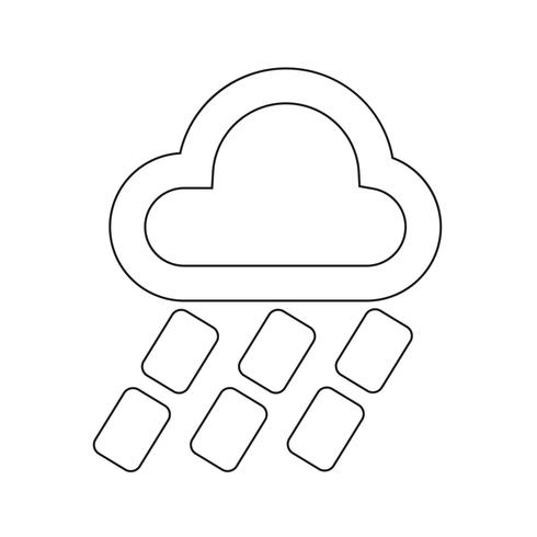 Wetter Icon Vektor-Illustration vektor