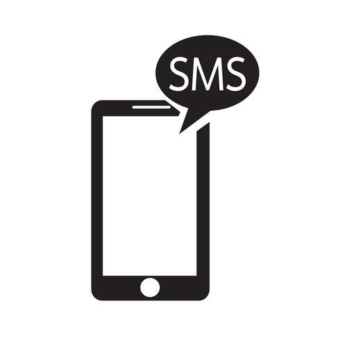 Smartphone-Symbol Vektor-Illustration vektor