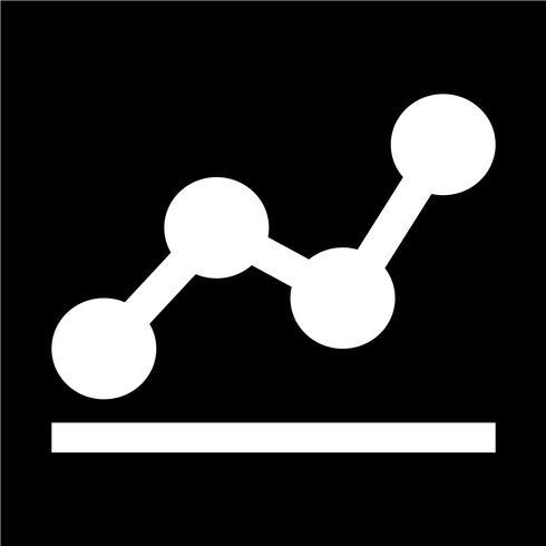 Diagramm Diagramme Symbol Vektor-Illustration vektor