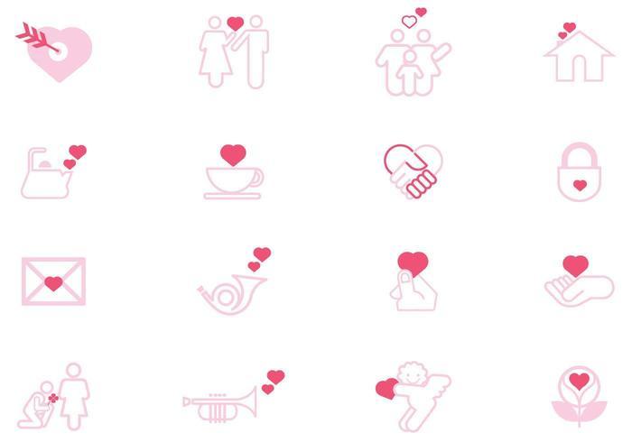 Zeichen der Liebe Vector Pack