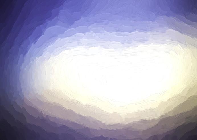 Målad abstrakt bakgrund vektor