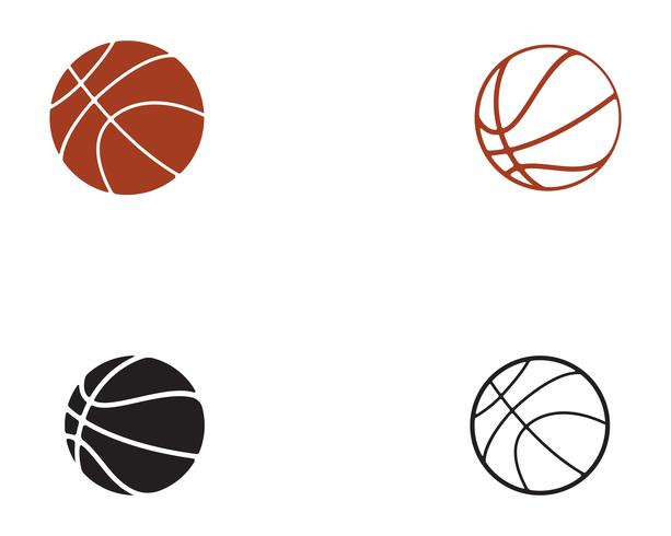Basketbollspelaren hoppar till dunk vektor