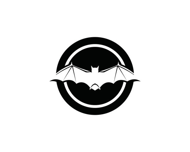 Vorlage für Bat-Logo und Symbole vektor