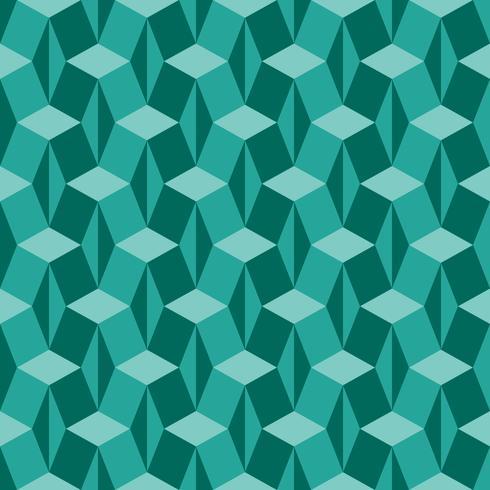 Fascinerande isometrisk geometri mönster vektor